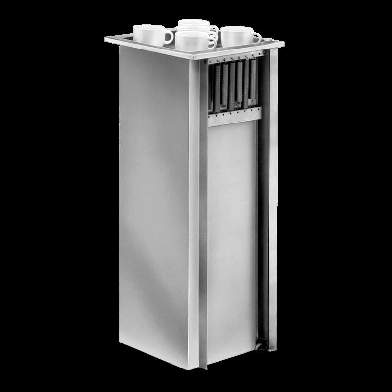 TSG – Incounter Dispenser For Soupbowls, Milkmugs, Glasses Etc.