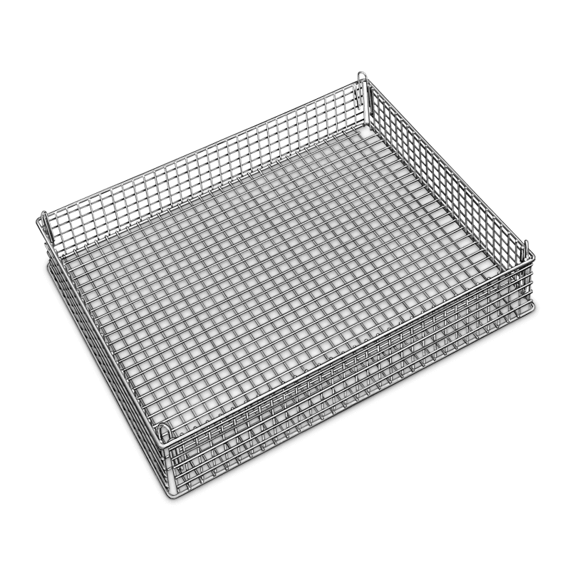 Stainless Steel Basket 650 X 530 X 75 Mm