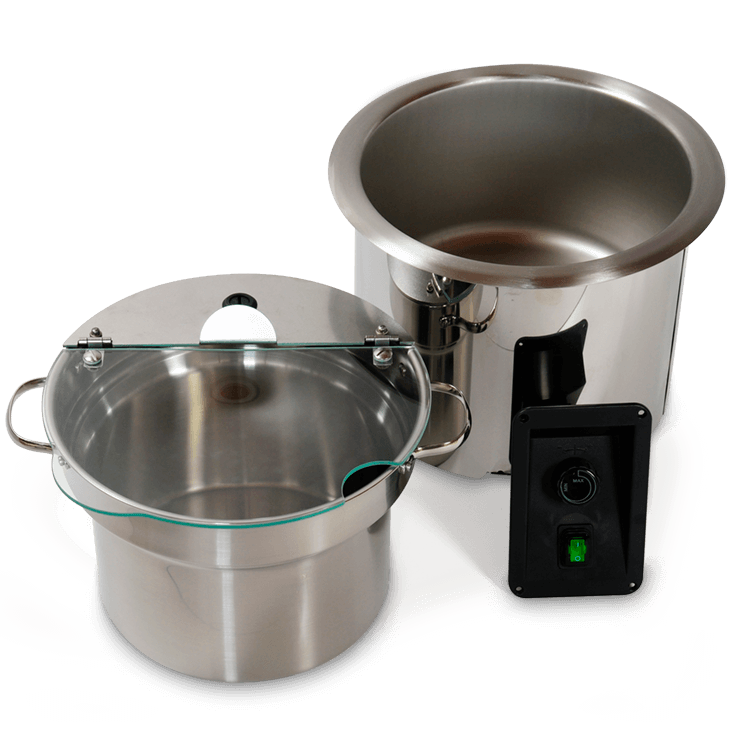 Soup Well – Incl. Pan And Hinged Lid