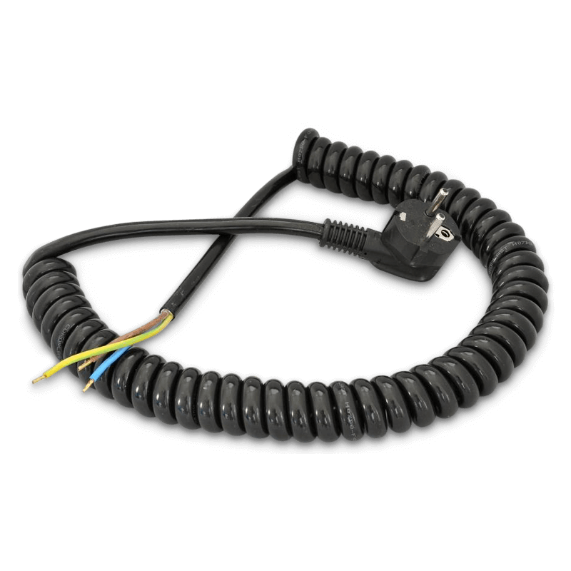 Spiralcable With Plug 3 X 1,5 Mm²