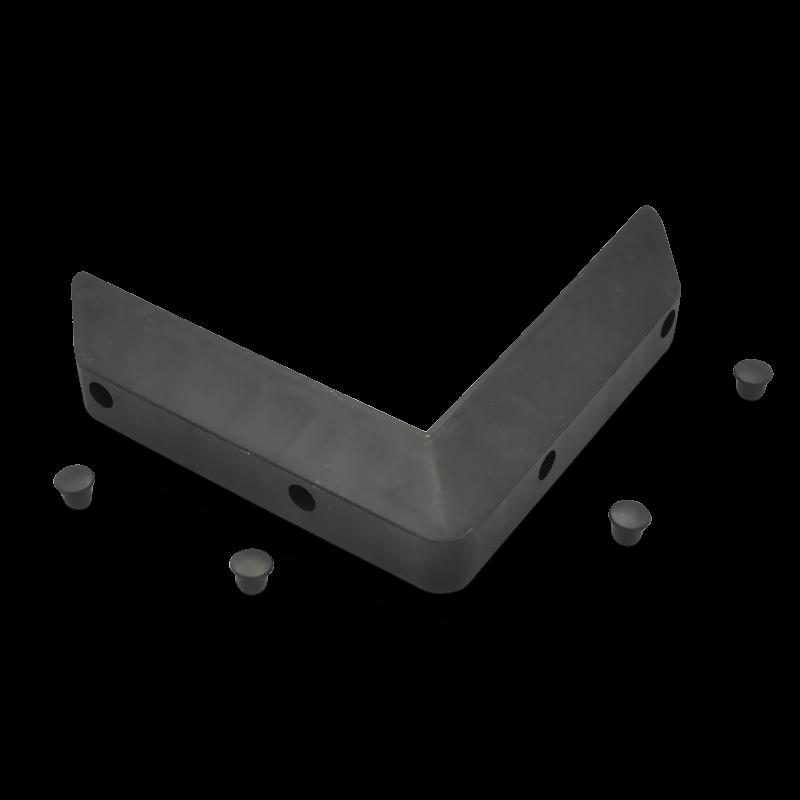 Black Corner Bumper (incl. 4 Skiffys)