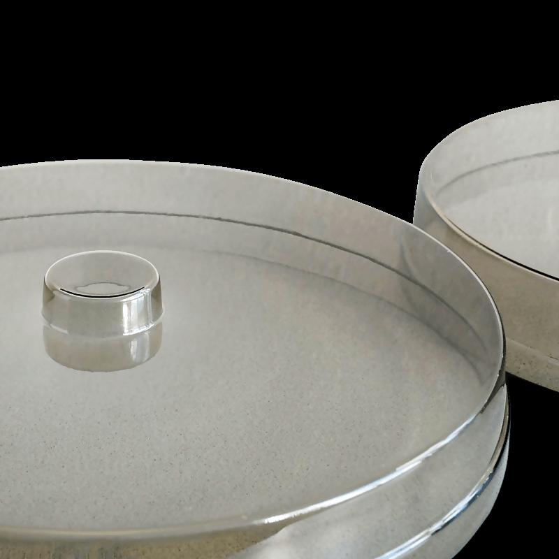 Polycarbonate Cover Round – Smoke DFR 210