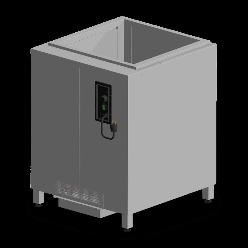 OR-CHU/B – Basketdispenser With Fan-assisted Heating